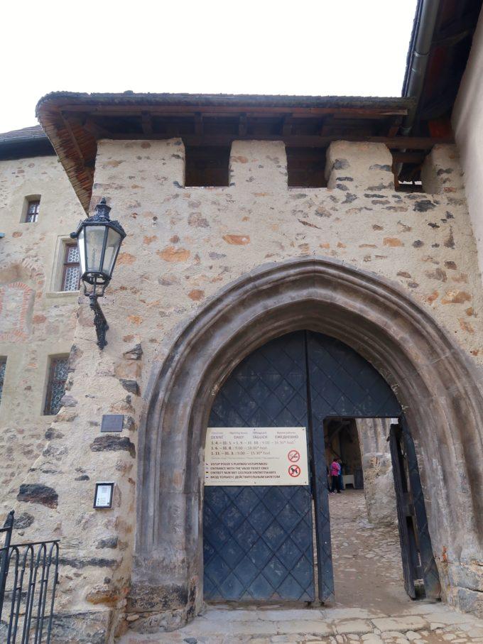 ロケト城 入口