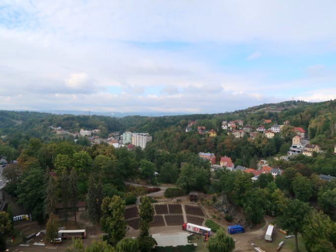 ロケト城からの眺め
