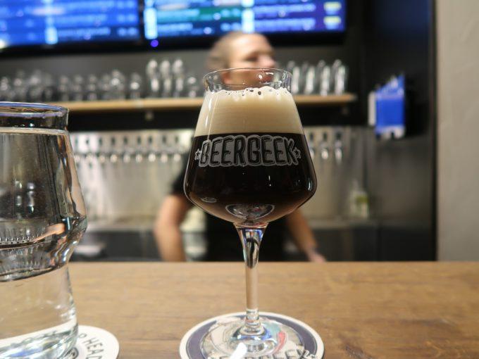 チェコ・プラハのクラフトビアバー「BeerGeek Bar & Pivotéka」
