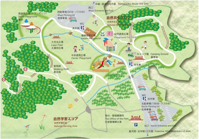 中城公園 マップ