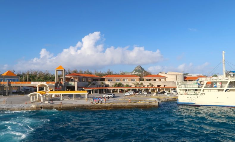 伊江島のシンボル・タッチューを眺めて最終日