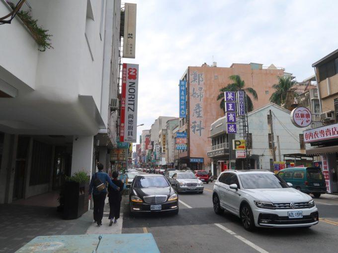 台南の町並み