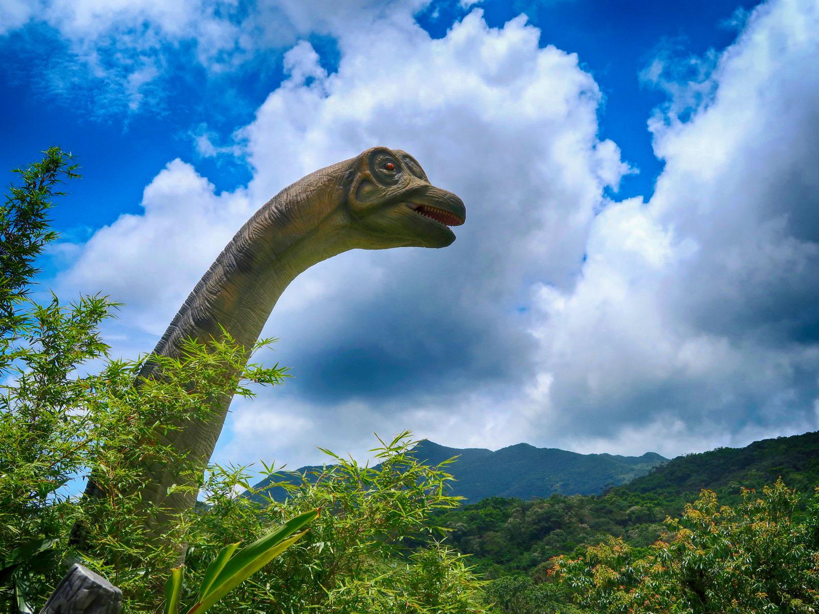 沖縄の亜熱帯林「DINO 恐竜 PARK やんばる亜熱帯の森」に行ってきた。
