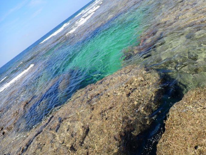 沖縄晴天の海