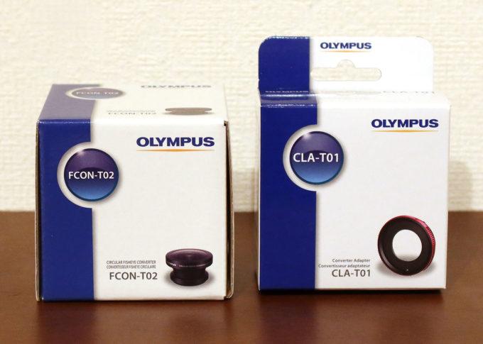フィッシュアイコンバーター「FCON-T02」&コンバージョンレンズアダプター「CLA-T01」