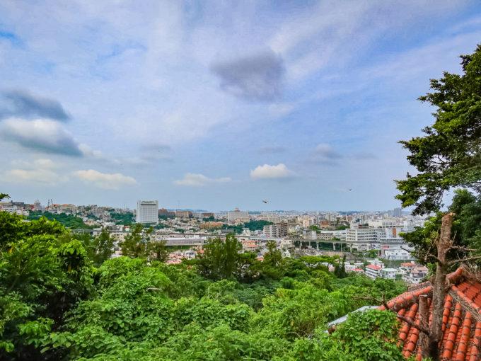 末吉宮からの眺め 加工