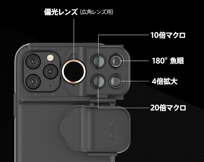 ShiftCam Multi Lens Case 機能解説