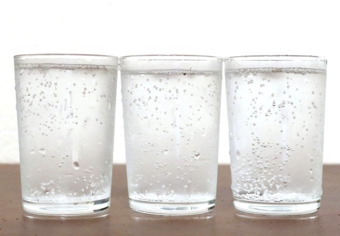 炭酸水見た目は同じソーダよね
