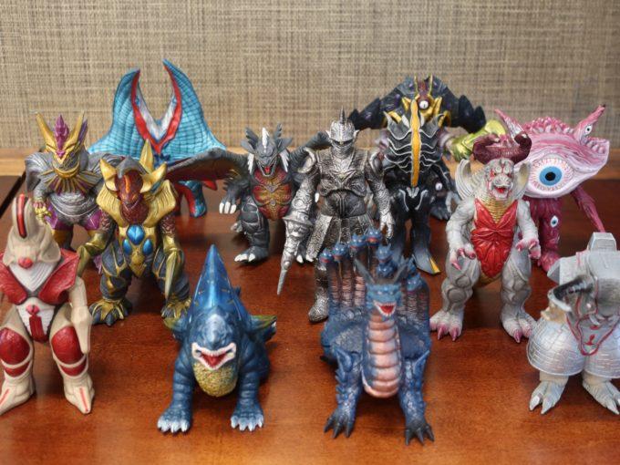 ウルトラマンガイアの怪獣シリーズ