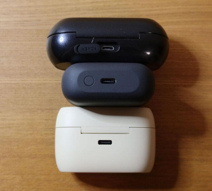 充電はUSB-C&Qi