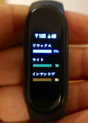 MiBand5 日本語版の日本語表示 その2